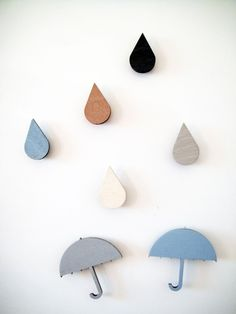 studio, idea, diy crafts, magnets, snugdrop wooden, rain drops, housewarming gifts, kid, wooden magnet