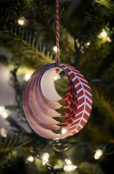 Easy DIY Paper Christmas Ornament