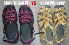 Travel Sandal Comparison: Keen Whisper vs Ahnu Tilden IV