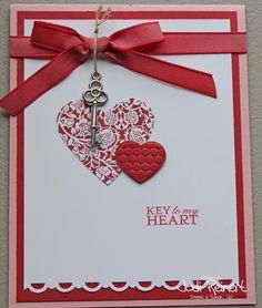 heart cards to make, valentin card, card idea, keygreat idea, card valentin