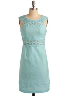 Bridesmaid dress (for the blue girls)