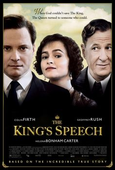 The King's Speech, 2010, directed by Tom Hooper.