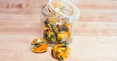 Frozen Citrus-Rosemary Garbage-Disposal Cleaning Cubes