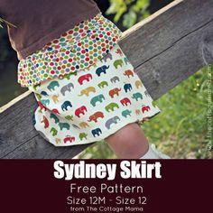 The Sydney Skirt FREE PATTERN!