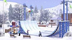 Exhibit your snowboarding skills during the winter months in Sims 3 Seasons. Jump in and join the snowboarding platform and get a lot of attention with your snowboard talent. Aside from snowboarding, you can do other winter stuff people usually do in the winter seasons. Enjoy this virtual activities with your sim and get your own Sims 3 Seasons Crack on the web.