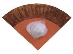 paper plate pumpkin pie