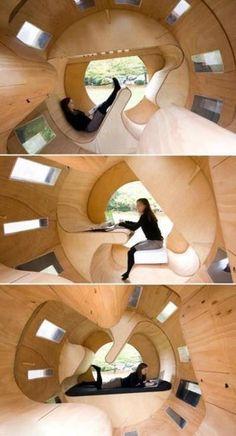 Rolling multi-use room
