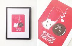 We Belong Together Print