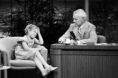 Drew Barrymore & Johnny Carson