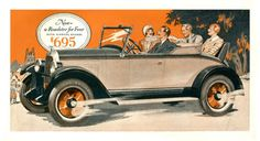 1920′s Cars