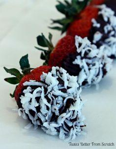 Dessert Recipes: Gourmet Chocolate Covered Strawberries Recipe