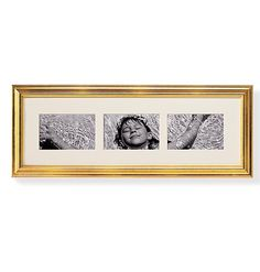 "Linear Display Triple Opening 4"" x 6"" Wall Frame - Zoom"