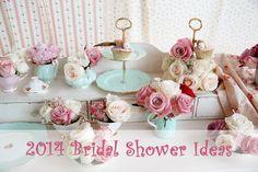 2014 bridal shower ideas