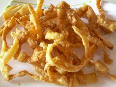 Mira's Talent Gallery: Fried Wonton Strips - an yummy evening snack