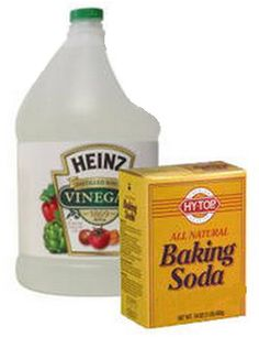 Vinegar and Baking Soda can SAFELY Unclog a Clogged Drain