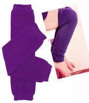 (#79) Purple baby leg warmers for girl or boy by My Little Legs
