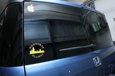 Hogwarts Alumni Car Decal by tapestrymlp