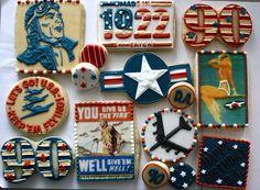 Vintage Air Force Cookies!