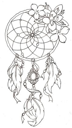 If I ever get a dream catcher tattoo, I would have it with a spider web instead of string and a skeleton cameo girl hanging from it. Tattoo Ideas, Dream Catcher With Roses, Colorful Girl Tattoos, Spider Tattoos, Dreamcatcher Tattoo Idea, Dream Catcher Thigh Tattoos, Dream Catcher Drawing, Tattoos Of Dream Catchers, Rose Dream Catcher Tattoo
