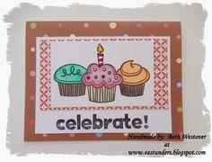 Fun cupcake card