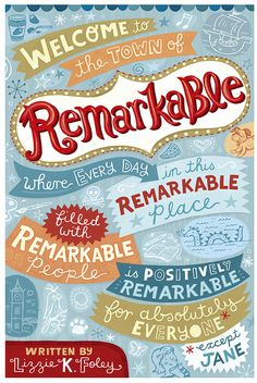 Remarkable by Linzie Hunter, via Flickr