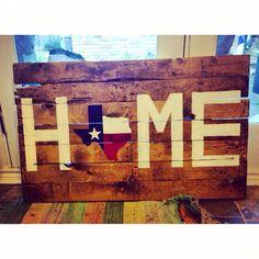 oklahoma state pallet, texa sign, back porches, diy texas decor, pallet art, pallet diy, texas homes, texas diy decor, front porches