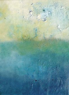 Abstract Art - blues and greens