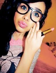 her makeupp >