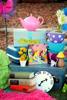 Alice in Wonderland, Mad Tea Birthday Party Ideas | Photo 1 of 36 | Catch My Party