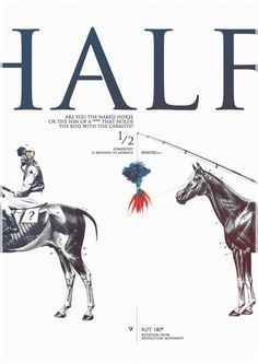 HALF by metric72 #layout #editorial #cover