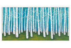 Congdon, Springtime Birches