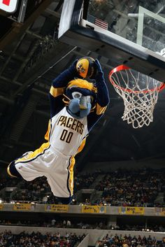 Boomer, Indiana Pacers