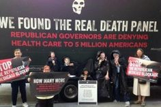 GOP Confronted With 'Republican Death Panel' For Opposing Obamacare