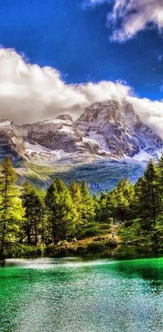 adventur, nature beauty, vida resort, blue lake, airports, vall daosta, beauti, place, italy travel