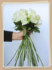 Easy way to make wedding bouquet