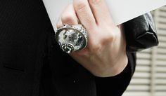 baubl ring, gorgeous jewelri, big ring