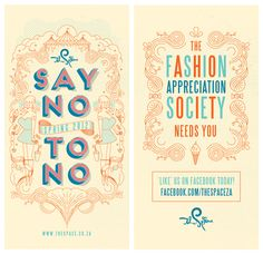 THE SPACE - SPRING 2012 POSTERS by Hylton Warburton, via Behance
