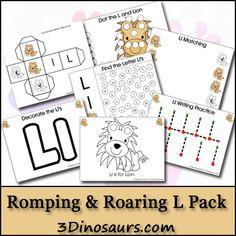 Free Romping & Roaring L Pack - 3Dinosaurs.com
