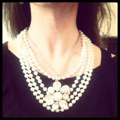 Classic premier design, open night, design jewelri, premier jewelri, petal pusher, night necklac