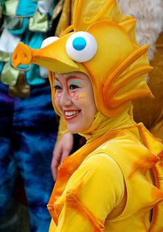 Seahorse costume by frankkrenz, via Flickr