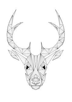 deer art print def printing for my little brother more diy ideas art ...