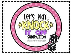 Math subtraction game