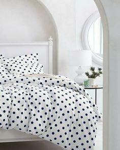 White-Hot Dot to Dot Bedroom