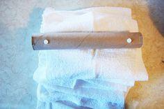"""DIY Reusable """"Paper"""" Towels"""