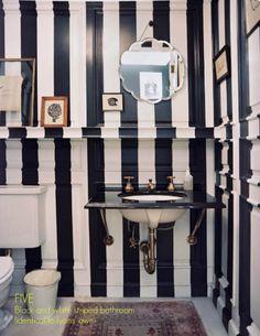 A rayas Black & White