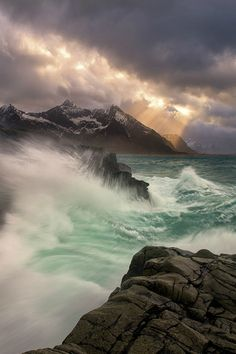 Storm on the Sea by Yan L on Flickr.