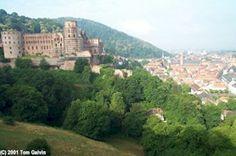 pleasant place, favorit place, heidelberg castl, castl overlook