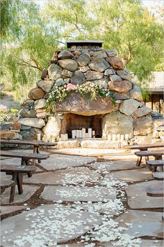 stone path ceremony