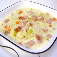 sauerkraut and Kielbasa Soup