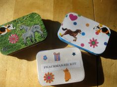 Making Peacemaker kits and other thoughts on the Cadette Girl Scout Amaze Journey